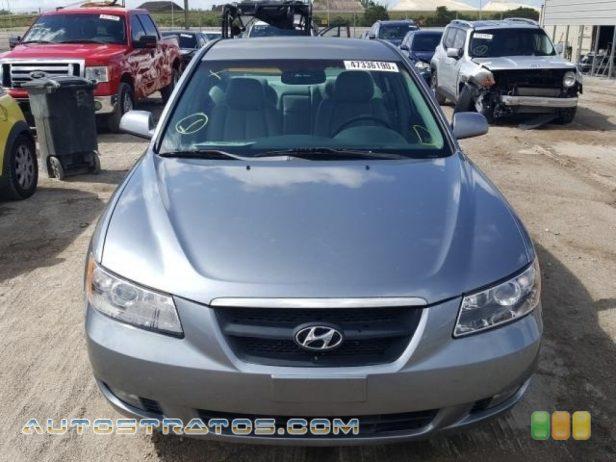 2006 Hyundai Sonata GLS V6 3.3 Liter DOHC 24 Valve VVT V6 5 Speed Shiftronic Automatic