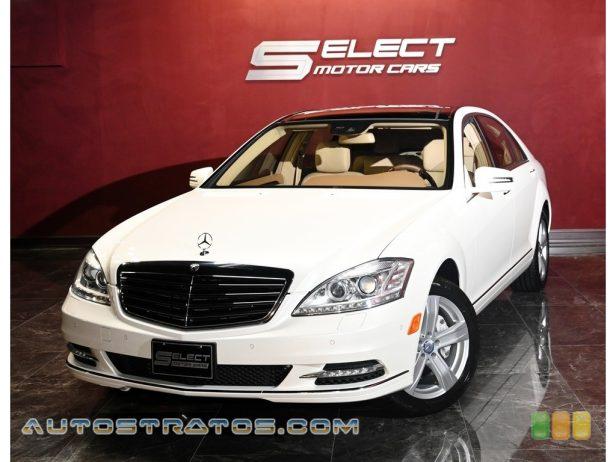 2011 Mercedes-Benz S 550 4Matic Sedan 5.5 Liter DOHC 32-Valve VVT V8 7 Speed Touch Shift Automatic