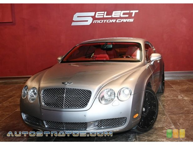 2006 Bentley Continental GT  6.0L Twin-Turbocharged DOHC 48V VVT W12 6 Speed Automatic