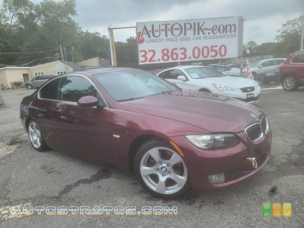 2008 BMW 3 Series 328i Coupe 3.0L DOHC 24V VVT Inline 6 Cylinder 6 Speed Manual