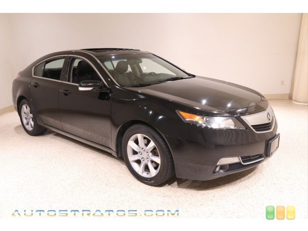2012 Acura TL 3.5 Technology 3.5 Liter SOHC 24-Valve VTEC V6 6 Speed Sequential SportShift Automatic