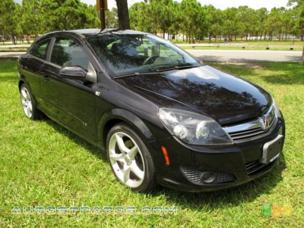 2008 Saturn Astra XR Coupe 1.8 Liter DOHC 16-Valve VVT 4 Cylinder 4 Speed Automatic