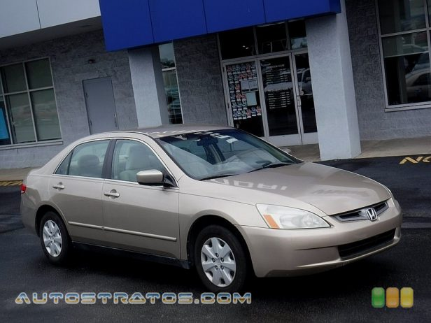 2003 Honda Accord LX Sedan 2.4 Liter DOHC 16-Valve i-VTEC 4 Cylinder 5 Speed Automatic