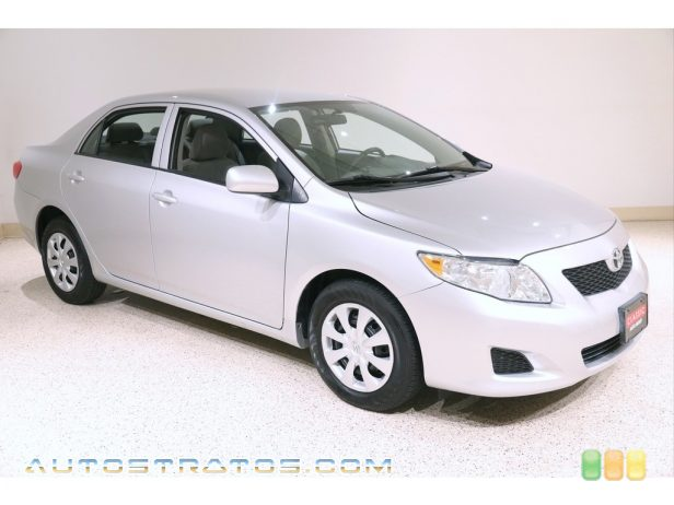 2010 Toyota Corolla LE 1.8 Liter DOHC 16-Valve Dual VVT-i 4 Cylinder 4 Speed Automatic