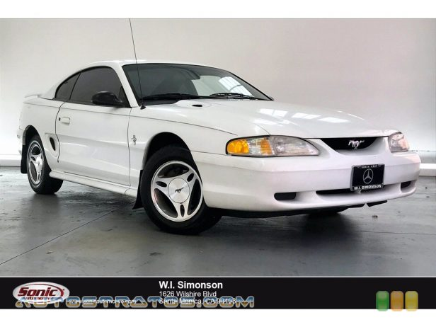 1998 Ford Mustang V6 Coupe 3.8 Liter OHV 12-Valve V6 4 Speed Automatic