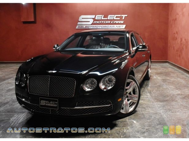 2014 Bentley Flying Spur W12 6.0 Liter Twin-Turbocharged DOHC 48-Valve VVT W12 8 Speed ZF Automatic