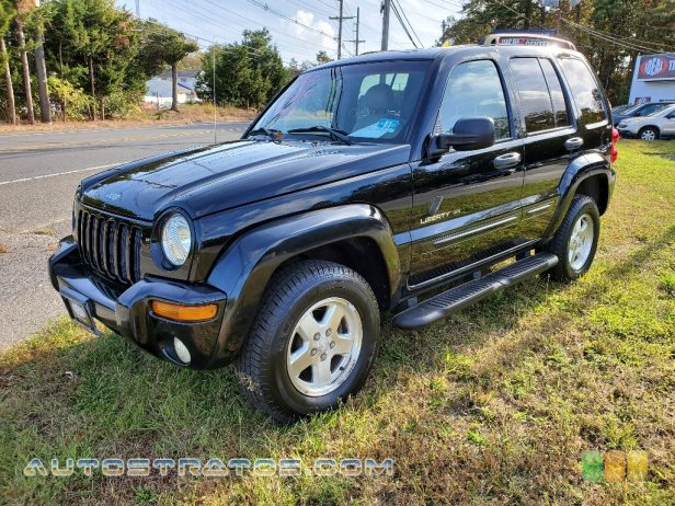2002 Jeep Liberty Limited 4x4 3.7 Liter SOHC 12-Valve Powertech V6 4 Speed Automatic