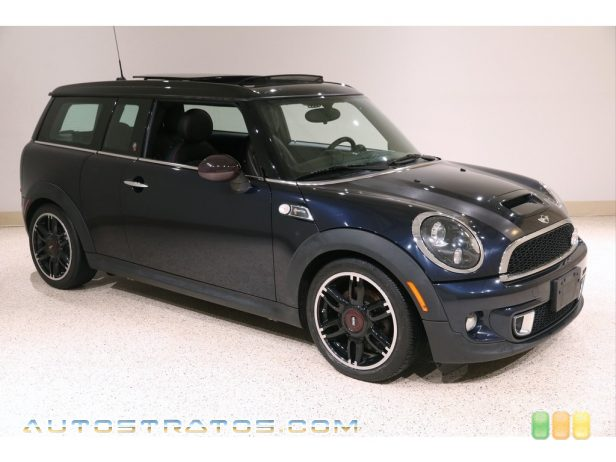 2012 Mini Cooper S Clubman Hampton Package 1.6 Liter DI Twin-Scroll Turbocharged DOHC 16-Valve VVT 4 Cylind 6 Speed Steptronic Automatic