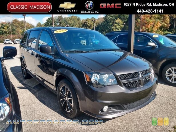 2019 Dodge Grand Caravan GT 3.6 Liter DOHC 24-Valve VVT V6 6-Speed Automatic