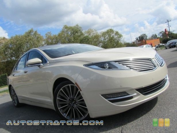 2014 Lincoln MKZ FWD 2.0 Liter GTDI Turbocharged DOHC 16-Valve EcoBoost 4 Cylinder 6 Speed SelectShift Automatic