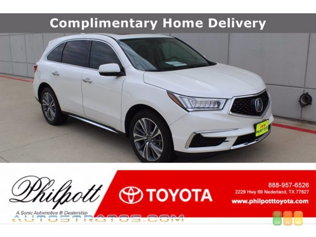 2017 Acura MDX Technology SH-AWD 3.5 Liter DI SOHC 24-Valve i-VTEC V6 9 Speed Sequential SportShift Automatic