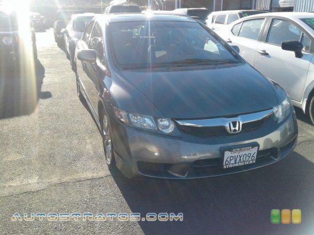 2009 Honda Civic EX Sedan 1.8 Liter SOHC 16-Valve i-VTEC 4 Cylinder 5 Speed Automatic
