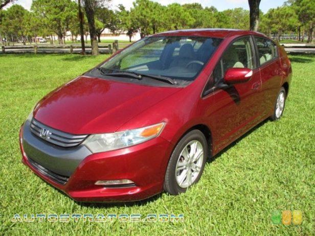 2010 Honda Insight Hybrid EX 1.3 Liter SOHC 8-Valve i-VTEC IMA 4 Cylinder Gasoline/Electric H CVT Automatic