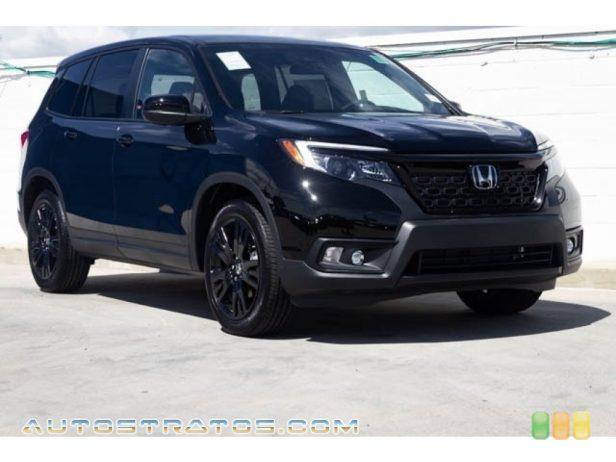 2021 Honda Passport Sport AWD 3.5 Liter SOHC 24-Valve i-VTEC V6 9 Speed Automatic