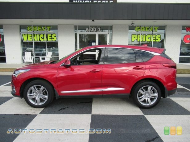 2020 Acura RDX Advance AWD 2.0 Liter Turbocharged DOHC 16-Valve VTEC 4 Cylinder 10 Speed Automatic