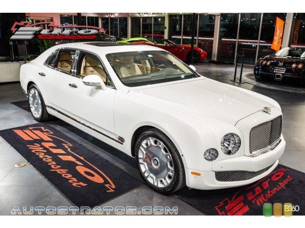 2014 Bentley Mulsanne Mulliner 6.75 Liter Twin-Turbocharged OHV 16-Valve VVT V8 8 Speed Automatic