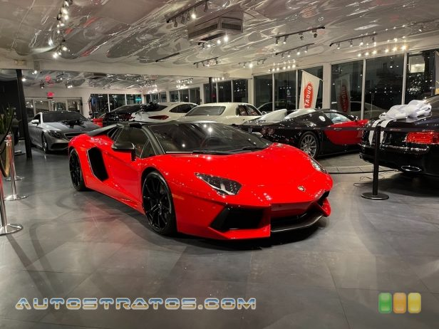 2013 Lamborghini Aventador LP 700-4 6.5 Liter DOHC 48-Valve VVT V12 7 Speed ISR Automatic