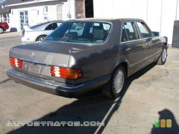 1988 Mercedes-Benz S Class SE 300 3.0 Liter SOHC 12-Valve Inline 6 Cylinder 4 Speed Automatic