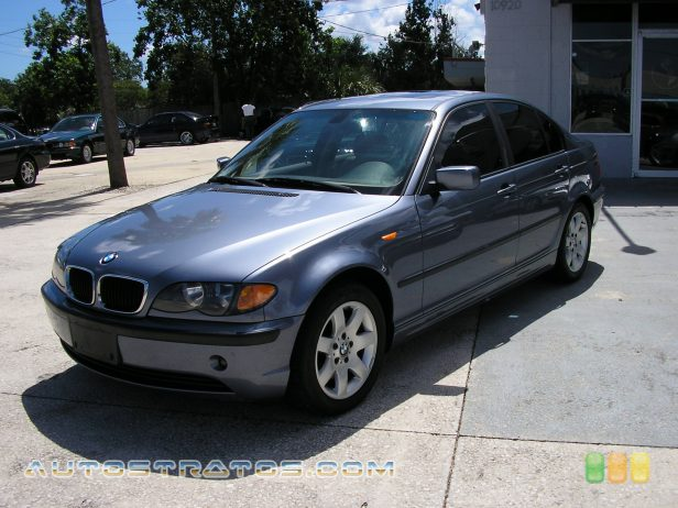 2003 BMW 3 Series 325i Sedan 2.5L DOHC 24V Inline 6 Cylinder 5 Speed Automatic
