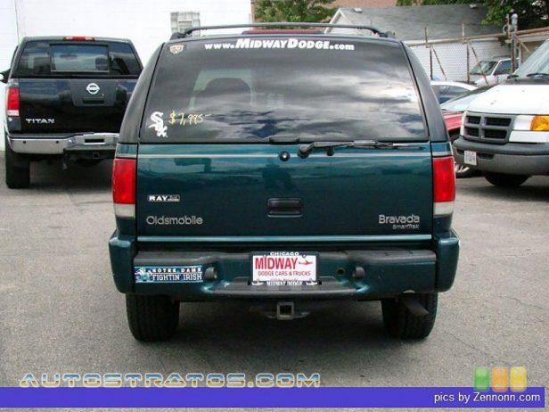 1998 Oldsmobile Bravada 4WD 4.3 Liter OHV 12-Valve V6 4 Speed Automatic
