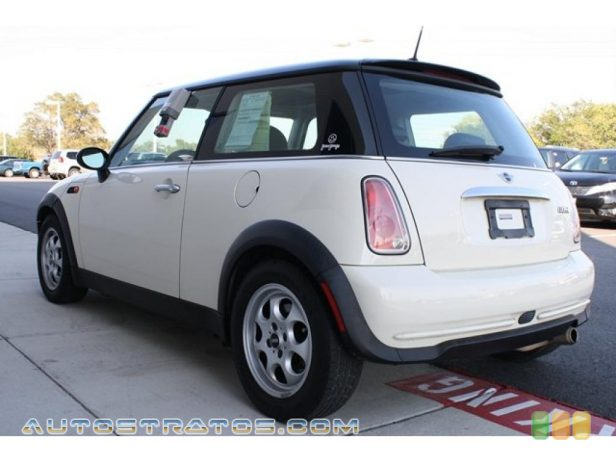 2005 Mini Cooper Hardtop 1.6L SOHC 16V 4 Cylinder 5 Speed Manual