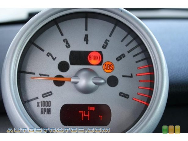 2005 Mini Cooper Hardtop 1.6L SOHC 16V 4 Cylinder 5 Speed Manual