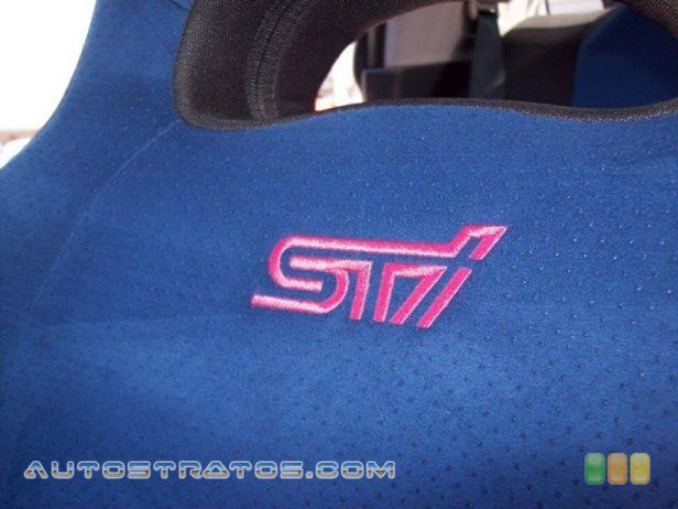 2006 Subaru Impreza WRX STi 2.5 Liter STi Turbocharged DOHC 16-Valve VVT Flat 4 Cylinder 6 Speed Manual