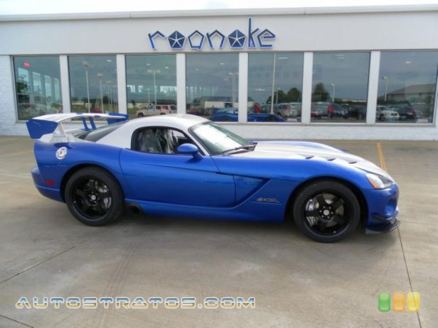 2010 Dodge Viper SRT10 ACR Coupe 8.4 Liter OHV 20-Valve VVT V10 6 Speed Manual