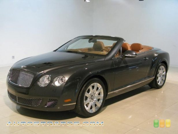 2011 Bentley Continental GTC  6.0 Liter Twin-Turbocharged DOHC 48-Valve VVT W12 6 Speed Automatic