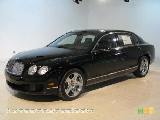 2011 Bentley Continental Flying Spur  6.0 Liter Twin-Turbocharged DOHC 48-Valve VVT W12 6 Speed Automatic