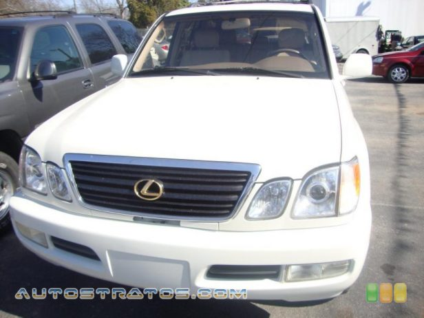 1999 Lexus LX 470 4.7 Liter DOHC 32-Valve V8 4 Speed Automatic
