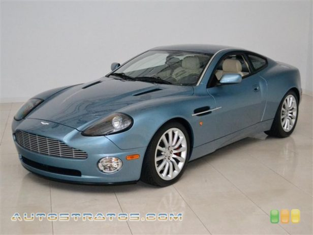 2003 Aston Martin Vanquish  5.9 Liter DOHC 48-Valve V12 6 Speed Sequential Automatic