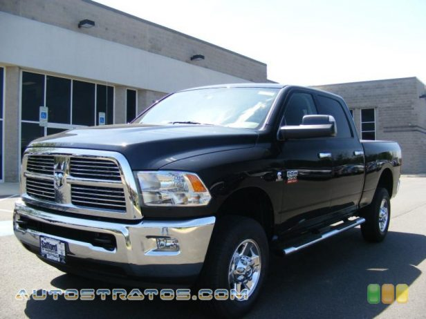 2011 Dodge Ram 2500 HD Big Horn Crew Cab 4x4 6.7 Liter OHV 24-Valve Cummins VGT Turbo-Diesel Inline 6 Cylinde 6 Speed Automatic