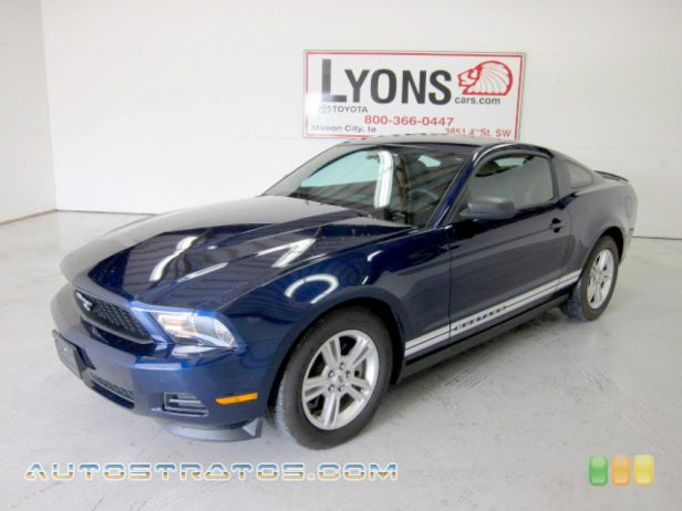 2011 Ford Mustang V6 Coupe 3.7 Liter DOHC 24-Valve TiVCT V6 6 Speed Automatic
