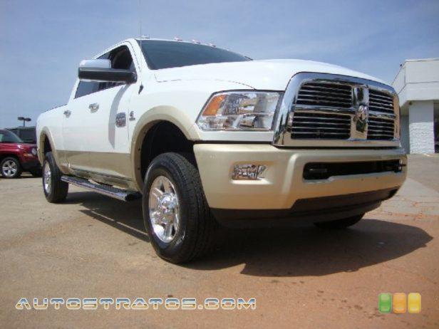 2011 Dodge Ram 2500 HD Laramie Longhorn Crew Cab 4x4 6.7 Liter OHV 24-Valve Cummins VGT Turbo-Diesel Inline 6 Cylinde 6 Speed Automatic