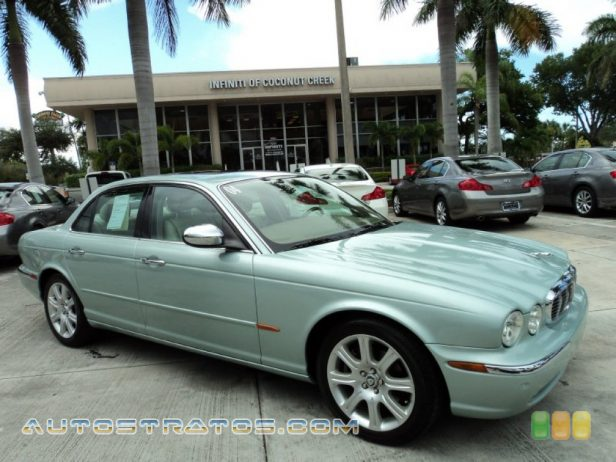 2004 Jaguar XJ Vanden Plas 4.2 Liter DOHC 32-Valve V8 6 Speed Automatic