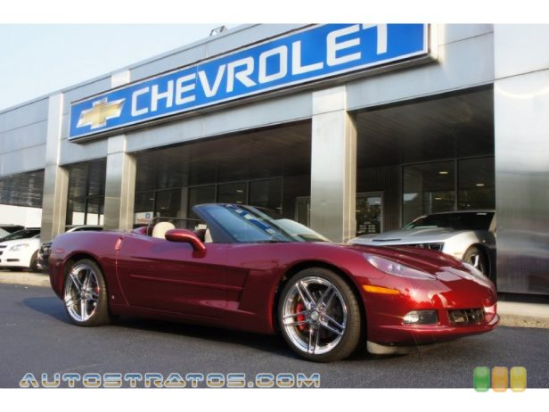 2006 Chevrolet Corvette Convertible 6.0 Liter ProCharger Supercharged OHV 16-Valve LS2 V8 6 Speed Automatic