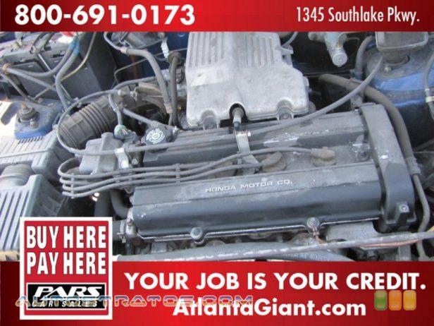 1999 Honda CR-V LX 2.0 Liter DOHC 16-Valve 4 Cylinder 4 Speed Automatic