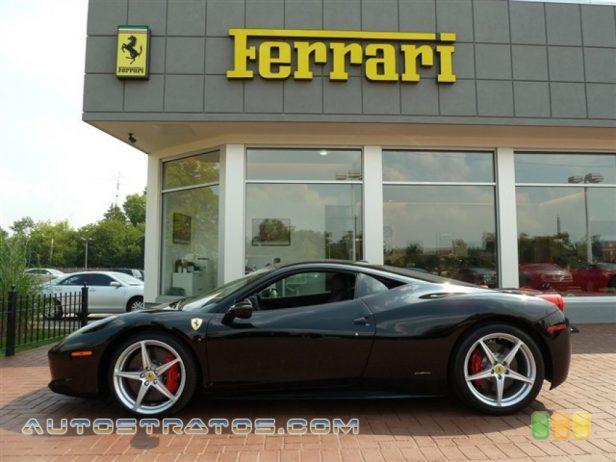 2010 Ferrari 458 Italia  4.5 Liter GDI DOHC 32-Valve VVT V8 7 Speed F1 Dual-clutch Automatic