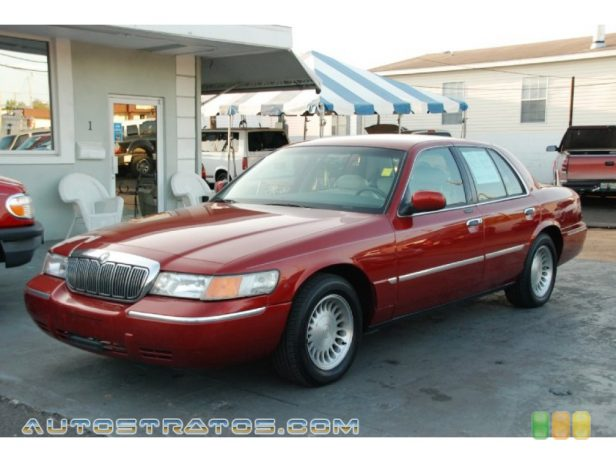 2000 Mercury Grand Marquis LS 4.6 Liter SOHC 16-Valve V8 4 Speed Automatic