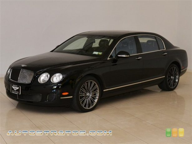 2011 Bentley Continental Flying Spur Speed 6.0 Liter Twin-Turbocharged DOHC 48-Valve VVT W12 6 Speed Automatic