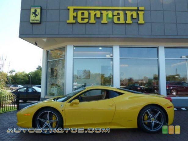 2011 Ferrari 458 Italia  4.5 Liter GDI DOHC 32-Valve VVT V8 7 Speed F1 Dual-clutch Automatic
