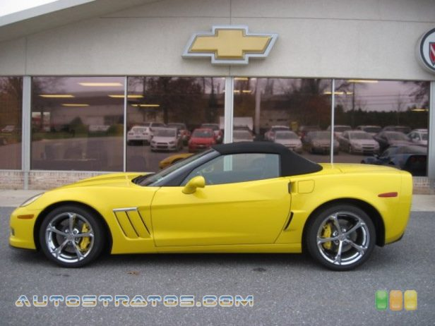 2012 Chevrolet Corvette Grand Sport Convertible 6.2 Liter OHV 16-Valve LS3 V8 6 Speed Manual