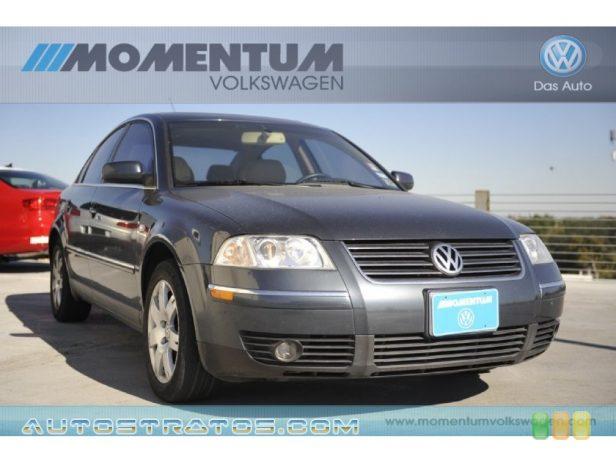 2002 Volkswagen Passat GLX Sedan 2.8 Liter DOHC 30-Valve V6 5 Speed Tiptronic Automatic