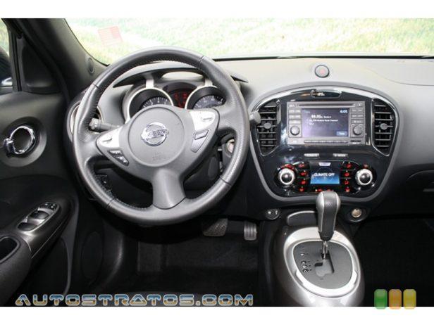 2012 Nissan Juke SL AWD 1.6 Liter DIG Turbocharged DOHC 16-Valve CVTCS 4 Cylinder Xtronic CVT Automatic