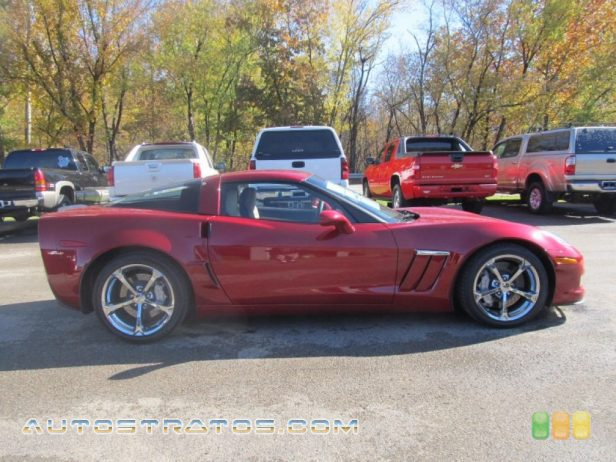 2013 Chevrolet Corvette Grand Sport Coupe 6.2 Liter OHV 16-Valve LS3 V8 6 Speed Manual