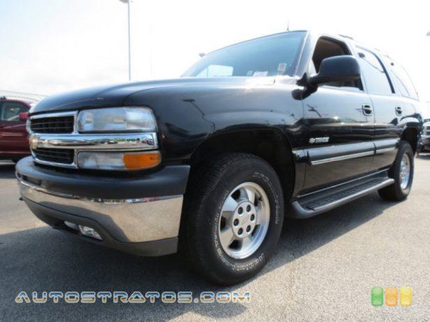 2002 Chevrolet Tahoe LT 4x4 5.3 Liter OHV 16-Valve Vortec V8 4 Speed Automatic