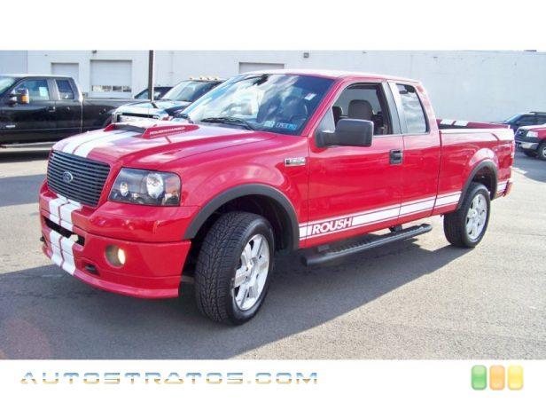 2005 Ford F150 Boss 5.4 SuperCab 4x4 5.4 Liter SOHC 24-Valve Triton V8 ...