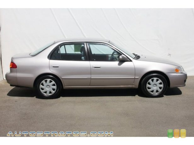 2002 Toyota Corolla LE 1.8 Liter DOHC 16-Valve 4 Cylinder 4 Speed Automatic