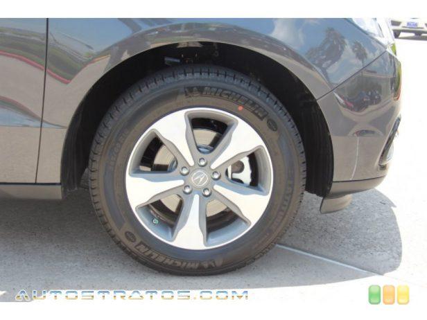 2014 Acura MDX  3.5 Liter DI SOHC 24-Valve i-VTEC V6 6 Speed Sequential SportShift Automatic